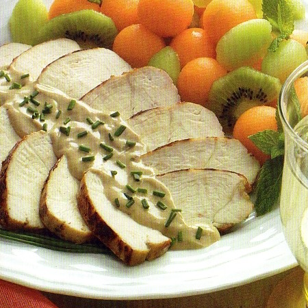 Chicken Breast with Mixed Mustards